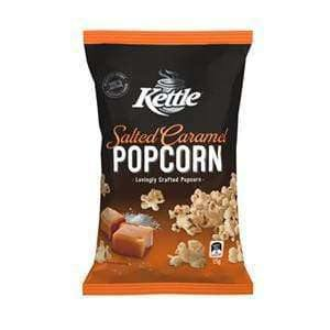 Kettle Salted Caramel Popcorn (18 x 25 Gm Bags) - Goody Goody Gum Drops