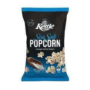 Kettle Sea Salted Popcorn (18 x 20 Gm Bags) |