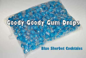 Blue Sherbet Cocktails 1 Kg Wrapped - Goody Goody Gum Drops