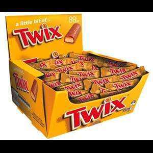 TWIX PICK & MIX ( 50 x 14.5 Gm bars) - Goody Goody Gum Drops