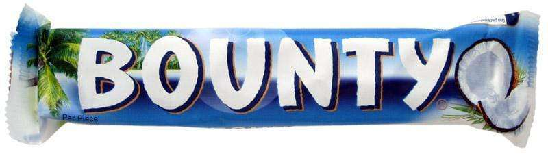 Bounty Bars 24 x 56 Gm - Goody Goody Gum Drops