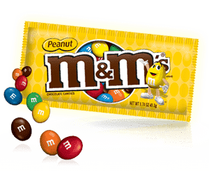 M&M Peanut Family Pack 345 Gm |