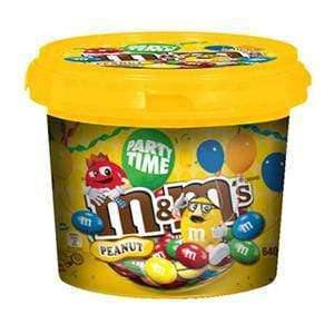 Mars CHOCOLATES > SINGLE COLOURED CHOC DROPS Peanut M&M Party Bucket 575 Gm