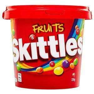 Mars CONFECTIONERY Skittles - Fruits 720 Gm Tub