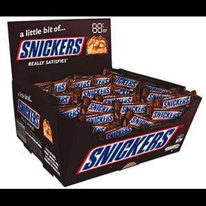 Mars SPECIALS SNICKERS PICK & MIX (50 x 18 Gm bars)