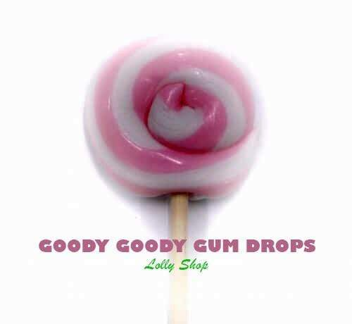 Pink & White Gourmet 5 cm LolliPops (Box of 25) | Pty Ltd