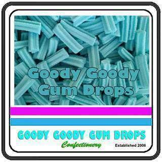 Mini Fruit Sticks BLUE 1 Kg - Goody Goody Gum Drops