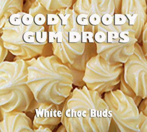 White Chocolate Buds 1 kg - Goody Goody Gum Drops