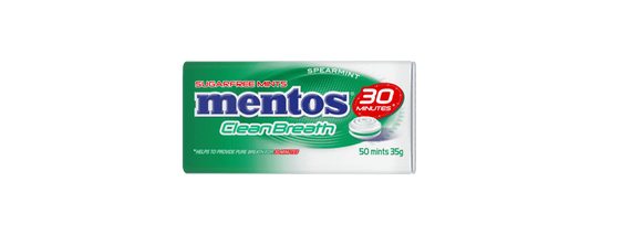 Mentos Sugar Free Clean Breath Spearmint - Goody Goody Gum Drops