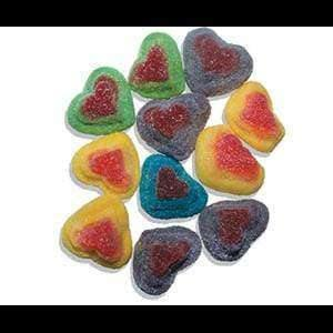 Sour Hearts 2 Kg (400 Lollies) - Goody Goody Gum Drops