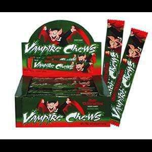 vendor-unknown CONFECTIONERY > SOUR Sour Vampire Chews Watermelon