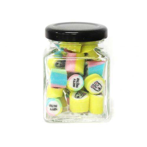 Easter Mix Gourmet Rock in 70 Gm Glass Jars (14 jars) - Goody Goody Gum Drops