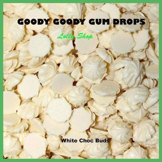White Chocolate Buds 1 kg Goody Goody Gum Drops