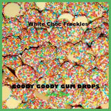 White Chocolate Freckles 1 Kg Goody Goody Gum Drops