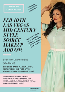 One On One Makeup Add-On With Daphne Davis at the Las Vegas Style Soiree