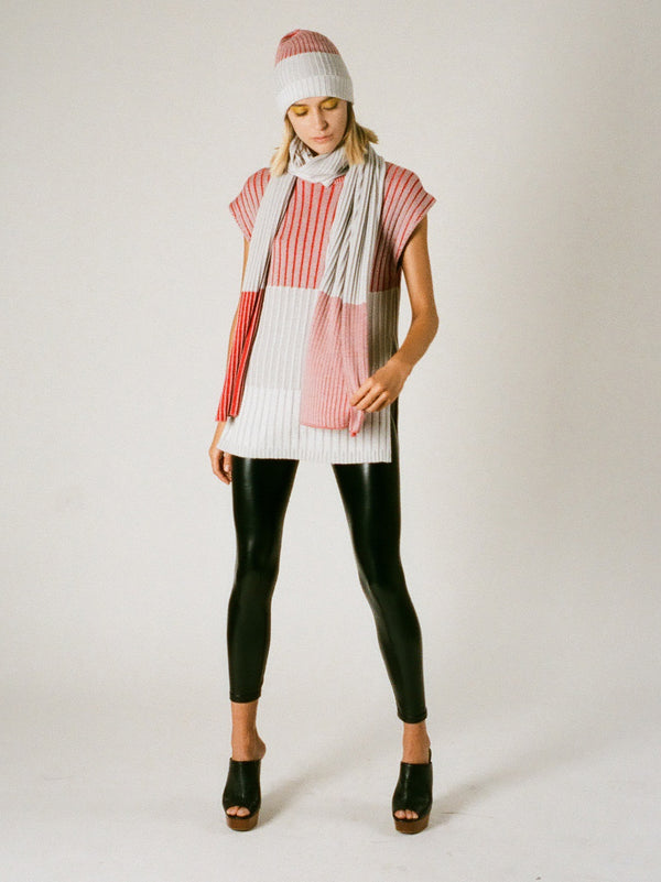 Block Stripe Shawl Scarf | Accessory | 22 Factor