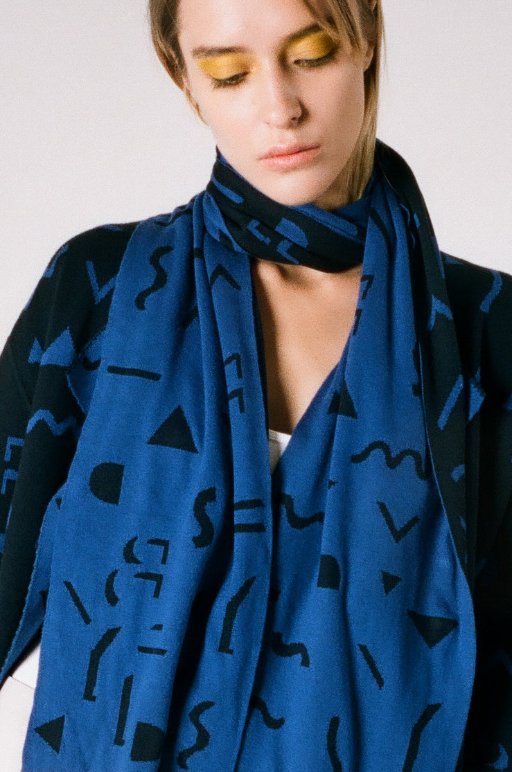Double Sided Jacquard Scarf | Accessory | 22 Factor