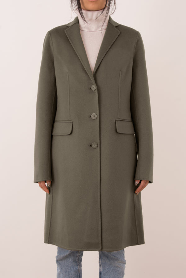 Sophie Double-Face Cashmere Tailored Coat - Grey