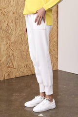 Gabbi Morning Rayon Nylon Pants Ivory | 22 Factor | ECO-LUXE knitwear