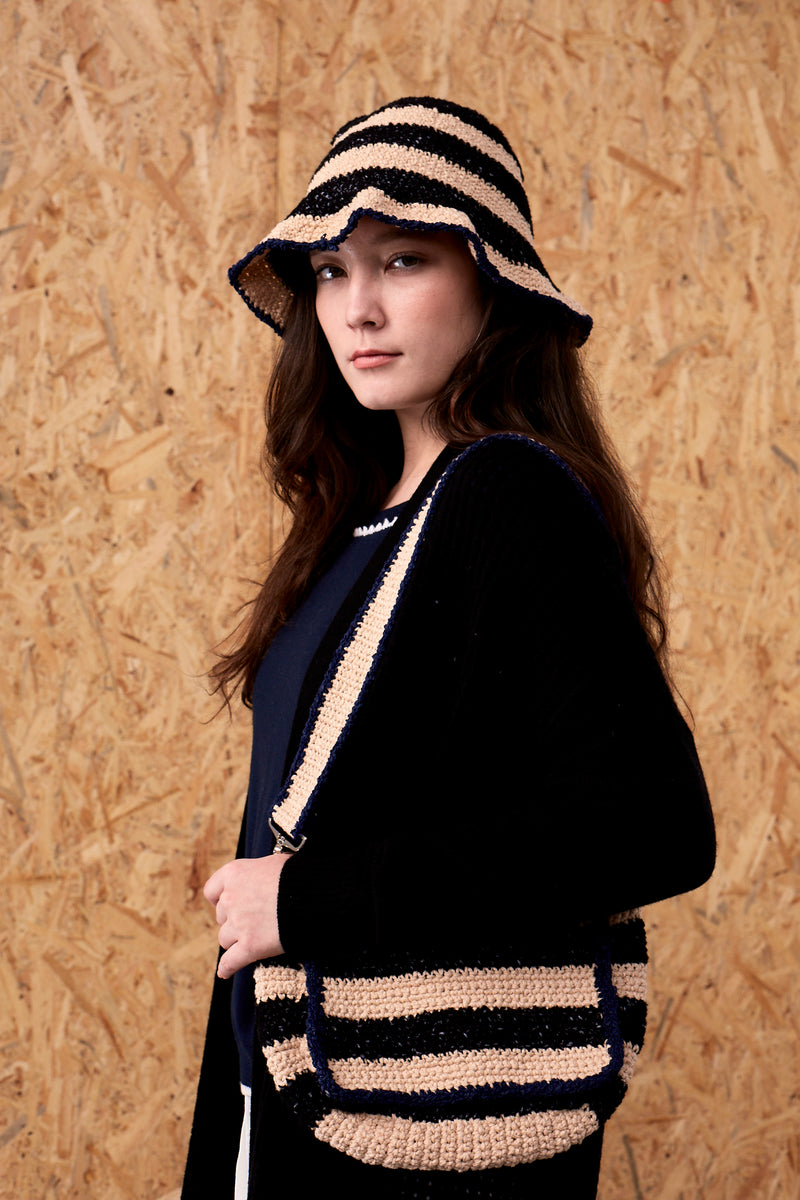 Elanora Handmade Knitted Clutch | 22 Factor | ECO-LUXE knitwear