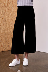 Penelope Culotte Pants Black | 22 Factor | ECO-LUXE knitwear