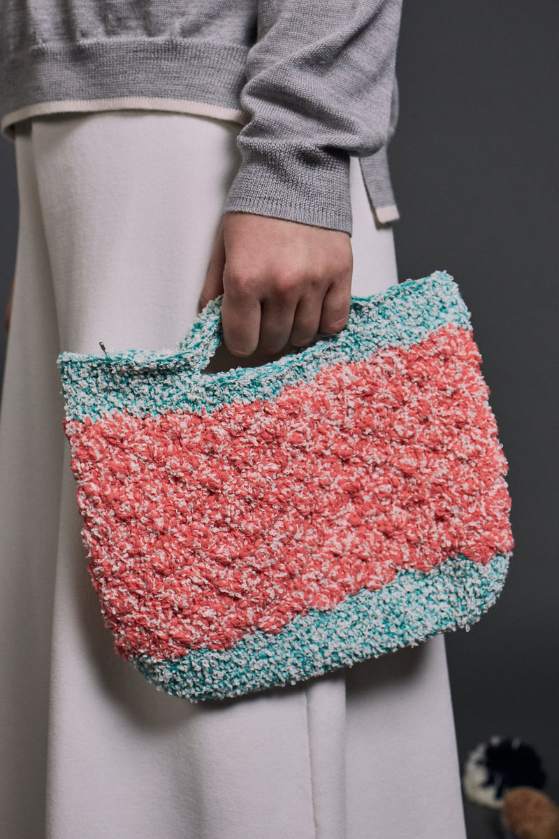 Vera Crochet Small Handbag | 22 Factor | ECO-LUXE knitwear