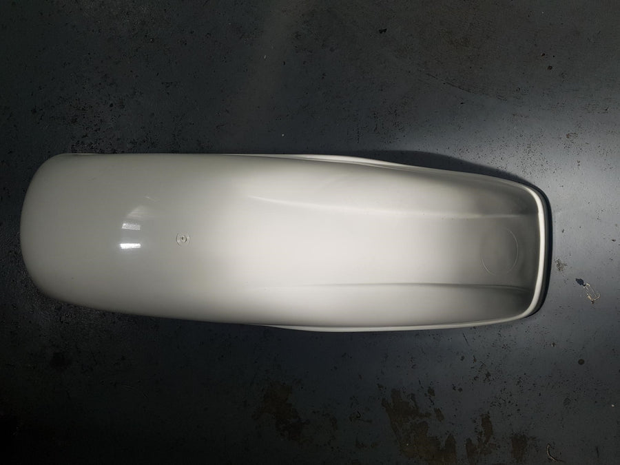MX Rear Guard White Bultaco