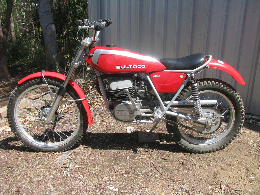 182 Bultaco Sherpa T Trials Bike 1976