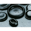 "1/2"" Black Flush Plugs 100pk"