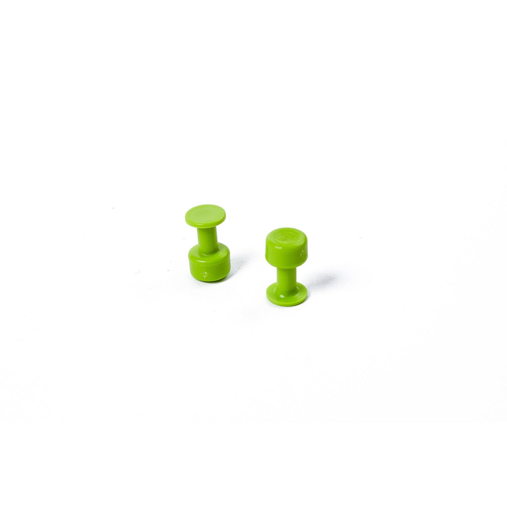 Gang Green Tabs - 12mm Smooth (10 PACK) - Gang Green Tabs - 12mm Smooth - TDN Tools