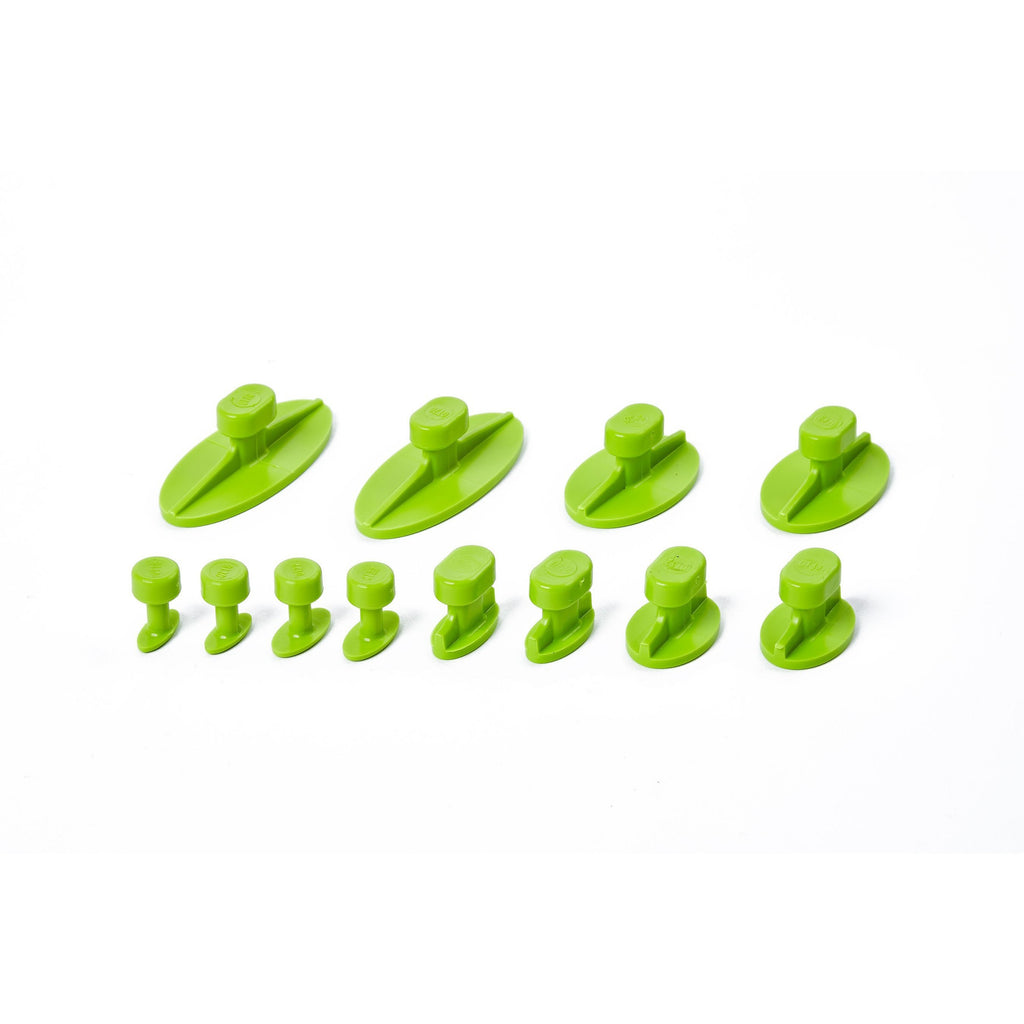 OVAL GANG GREEN TABS - VARIETY PACK (12 TABS) - TDN Tools