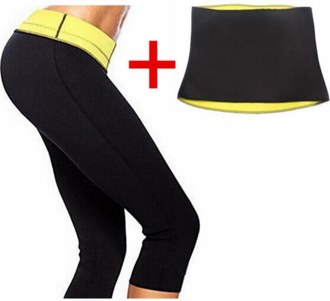 LEGGING +LA CEINTURE HOT SHAPER