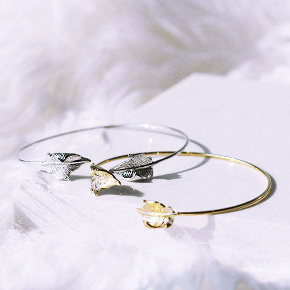 Curled Leaf Bangle