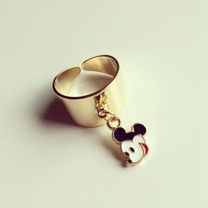 Mickey & Minnie Mouse Chain Ring