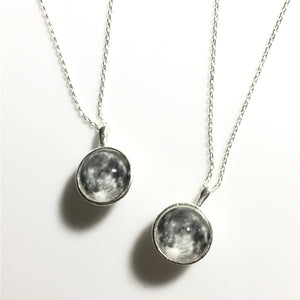 White Moon Necklace