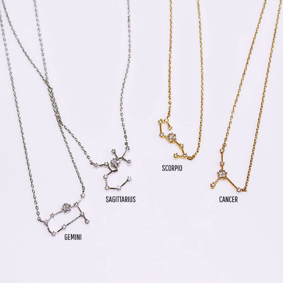 Horoscope Constellation Necklace