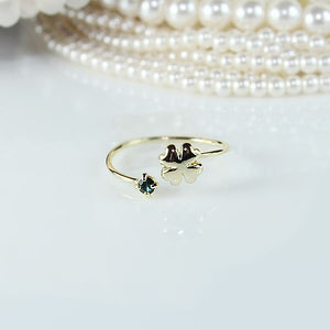 Clover Knuckle Ring
