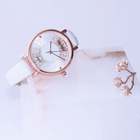 Lace Print Watch