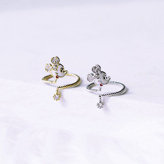 Mickey Mouse Knuckle Ring