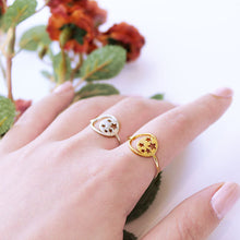Load image into Gallery viewer, Star & Moon Cutout Ring