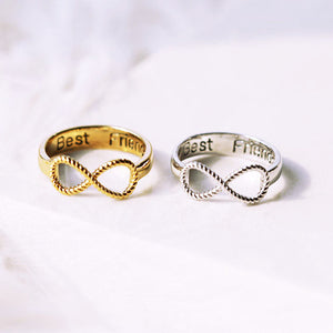 Best Friends Infinity Ring