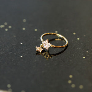 Star Pendant Ring