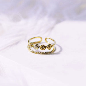 Rose Bar Ring