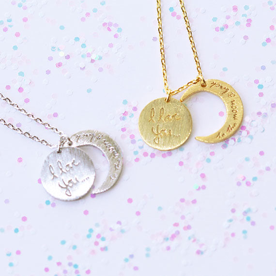 Love & Moon Necklace