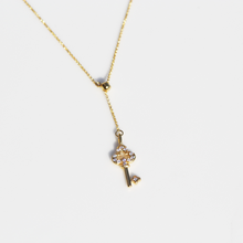 Load image into Gallery viewer, Key Charm Necklace