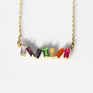 Multi Gemstone Necklace