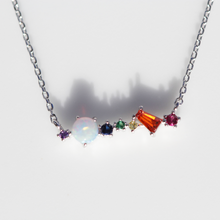 Load image into Gallery viewer, Opal Multi Gemstone Necklace