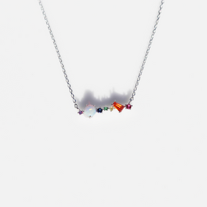 Opal Multi Gemstone Necklace