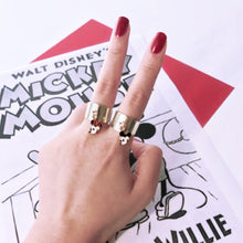 Load image into Gallery viewer, Mickey & Minnie Mouse Chain Ring