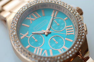 December Rhinestone Watch